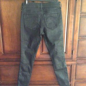 Express jeans leggings size 2R black
